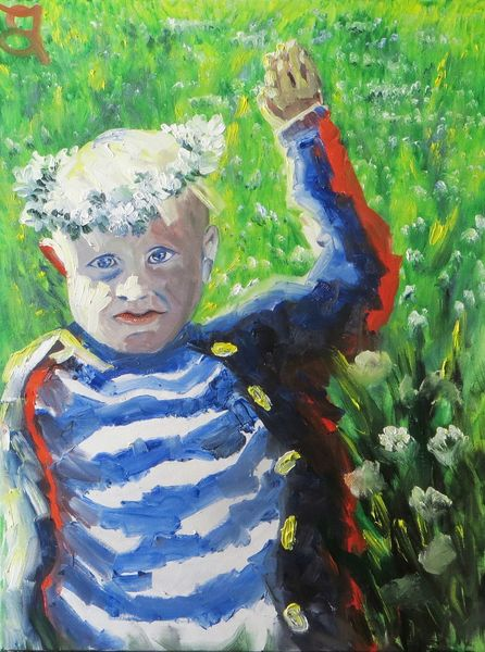 Andresdottir, Kind, Tochter, Malerei