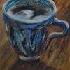 Kaffee, Tasse, Malerei