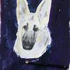 Hund, Aquarellmalerei, Portrait, Malerei