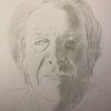 Bleistiftzeichnung, Menschen, Portrait, Radiergummi