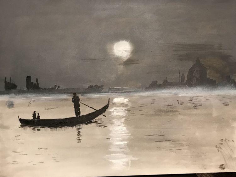 Malerei, Acrylmalerei,
