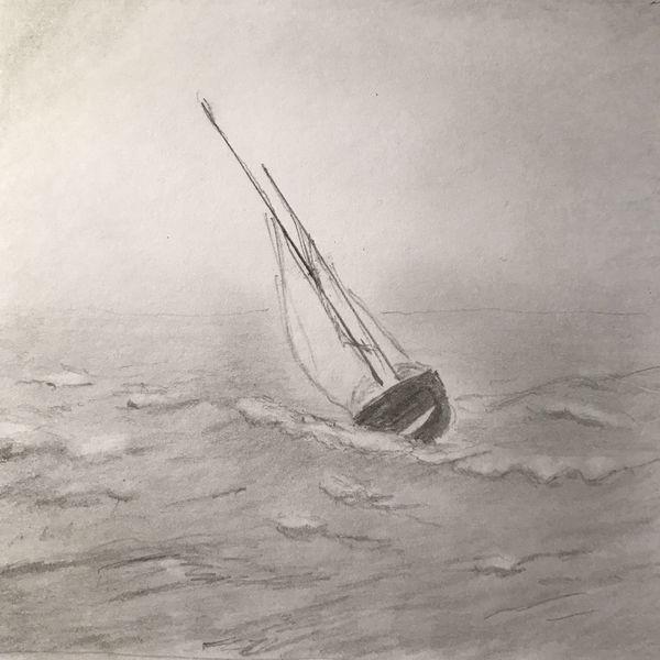 Radiergummi, Wasser, Zeichnung, Bleistiftzeichnung, Zeichnungen,