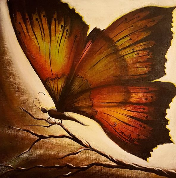 Schmetterling, Insekten, Malerei