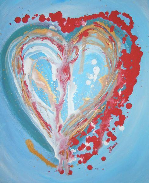 Malerei, Herz,