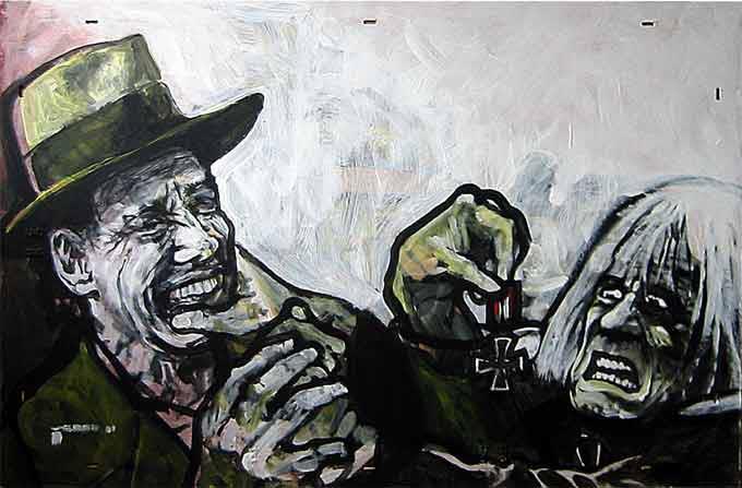 Malerei, Kreuz, Beuys