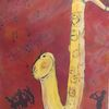 Happy birthday, Saxofon, Musiker, Gold