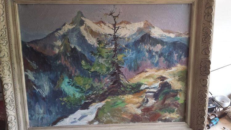 Malerei, Sagen