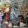 Abstrakt, Bunt, Fantasie, Malerei