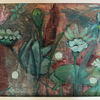 Grün, Landschaft, Pflanzen, Malerei