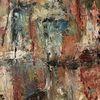 Abstrakt, Bund, Fließen, Malerei