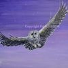 Himmel, Acrylmalerei, Lila, Tiere