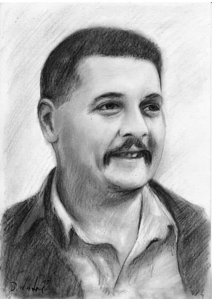 Zeichnung, Kohlezeichnung, Portrait, Mann, Schwarz, Zeichnungen