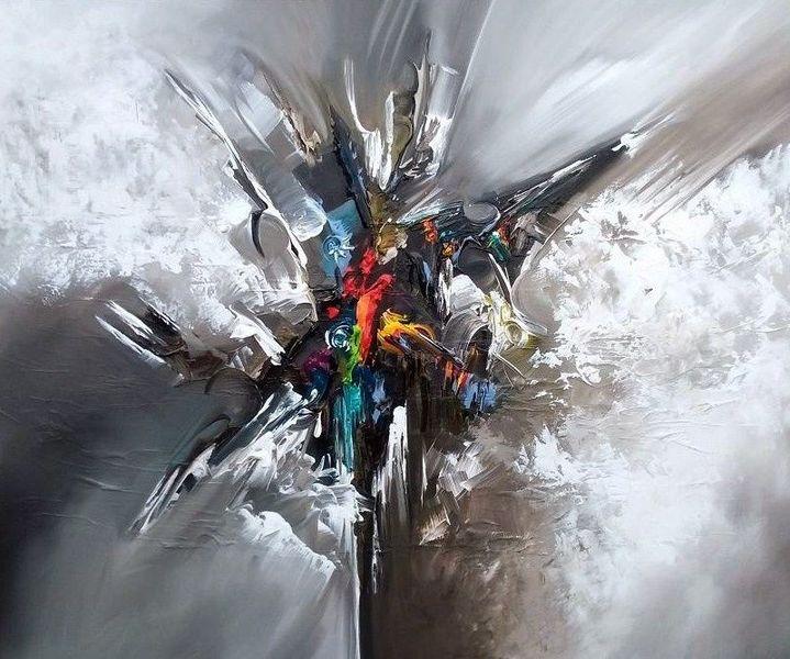 Abstrakt, Malerei, Balance