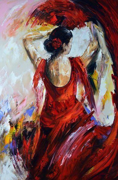 Flamenco, Malerei