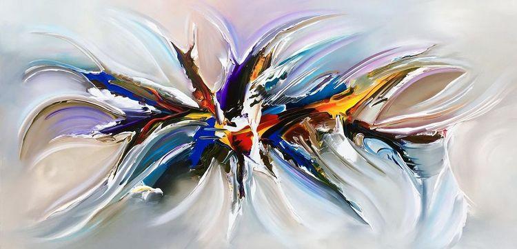 Unendlichkeit, Orion, Atlantis, Modern, Malerei,
