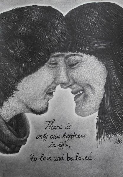 Liebespaar bilder kuss