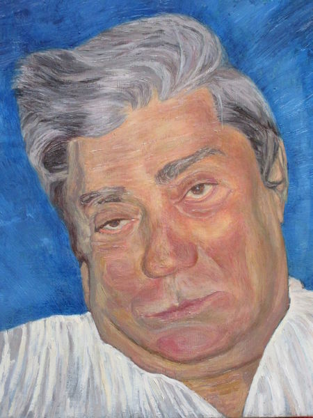Sehen, Portrait, Malerei