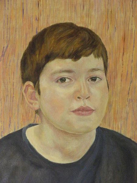 Ölmalerei, Malerei, Mann