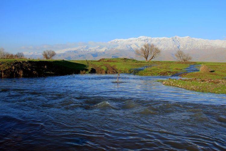 Wasser, Landschaft, Berge, Frühling, Fotografie, Baum