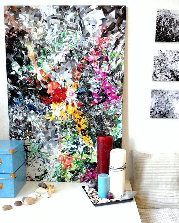 Bild collage art bunt fotoleinwand surreal von lilly helja jonasson bei kunstnet - Fotoleinwand erstellen collage ...