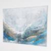 Braun, Ozean, Abstrakt, Malerei