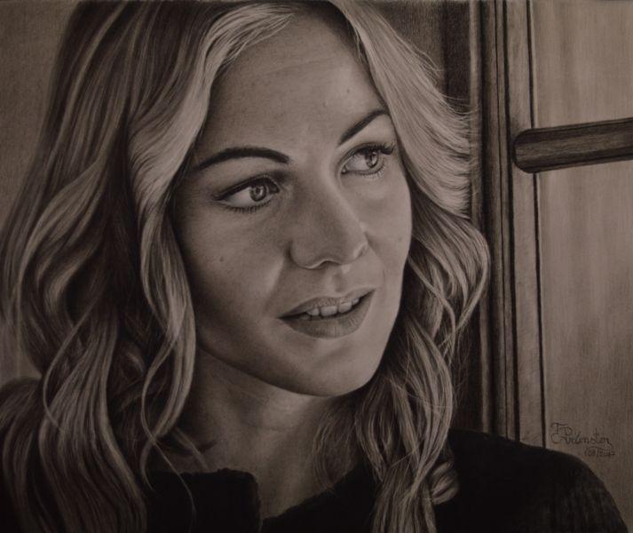 Frau, Menschen, Zeichnung, Portrait, Realismus, Zeichnungen