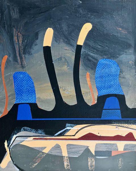Avantgarde, Abstrakt maleri, Metaphysisch, Luft, Modern, Zeitgenössisch