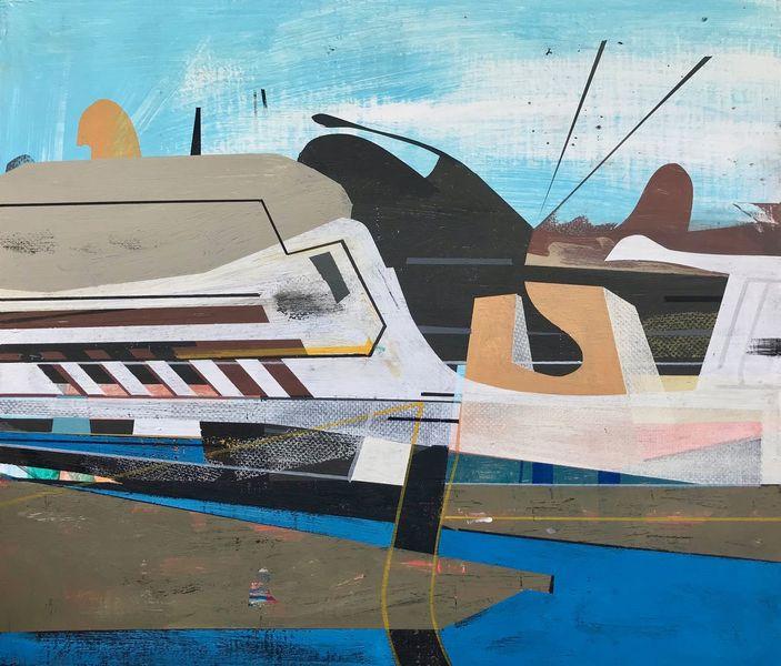 Modern, Rätsel, Avantgarde, Abstrakt maleri, Metaphysisch, Luft