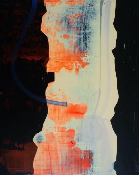Nacht, Abstrakt, Japan, Jim harris, Gemälde, Malerei