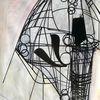 Acrylmalerei, Futurismus, Technologie, Dessin