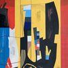 Metaphysisch, Technik, Avantgarde, Acrylmalerei