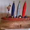Garner, Eichen, Holz, Skulptur