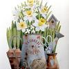 Blumen, Garten, Frühling, Aquarell