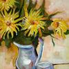 Blumen, Stillleben, Malerei, Blumenstrauß