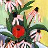 Blumen, Acrylmalerei, Stillleben, Malerei