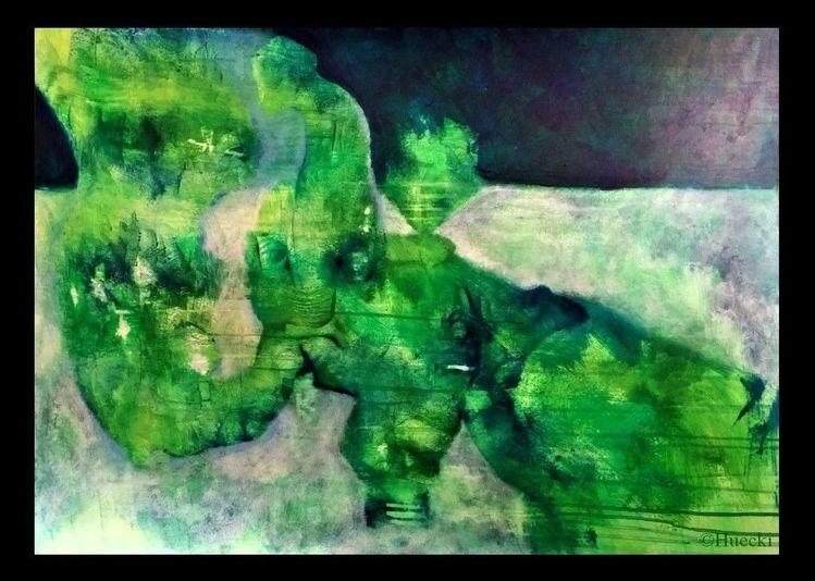 Farben, Figur, Ausgearbeitet, Malerei, Lang