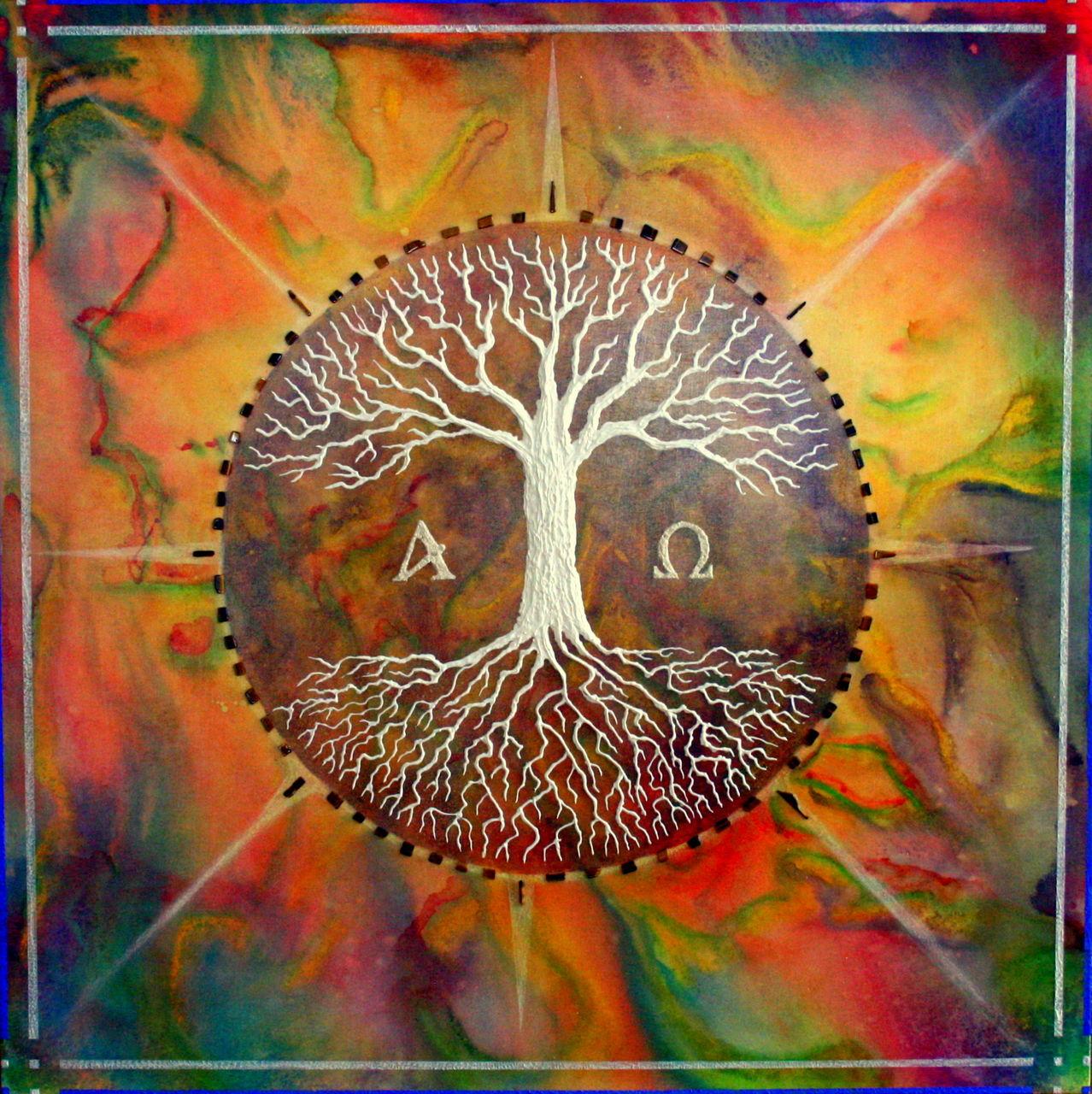 bild lebensbaum baum spirituell tree of life von hardy. Black Bedroom Furniture Sets. Home Design Ideas