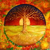 Baum des lebens, Spirituell, Energiebild, Baum