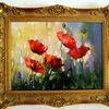Rose, Rot, Malerei, Surreal