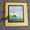 Natur, Baum, Glückwunschkarte, Sonne