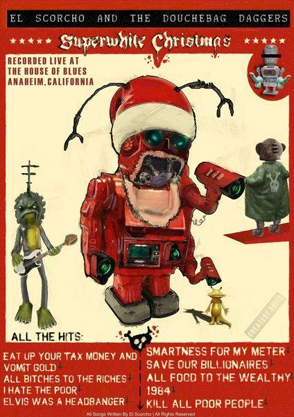 Weihnachten, Weltuntergang, Kaputt, Alien, Freak, Kampf