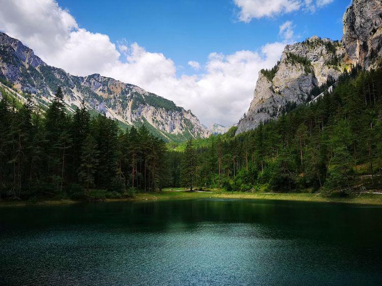Berge, See, Natur, Fotografie