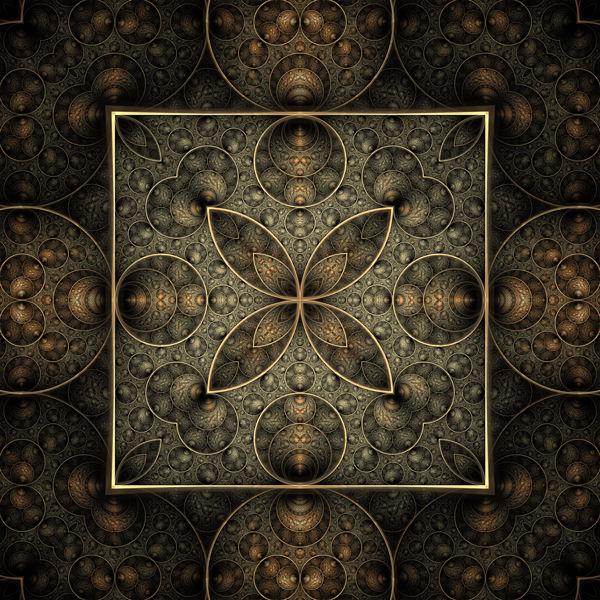 Ornament, Fraktalkunst, Kaleidoskop, Digitale kunst