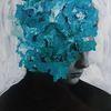 Mixed media, Fotodruck, Mischtechnik, Portrait
