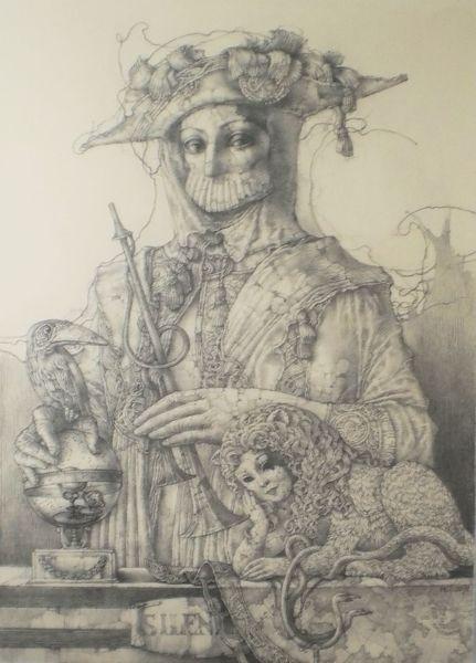 Barock, Chimäre, Symbolik, Venezianisch, Italien, Kostümieren