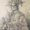 Venedig, Kostümieren, Musikinstrument, Renaissance