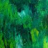 Malerei, Abstrakt, Natur, Wald