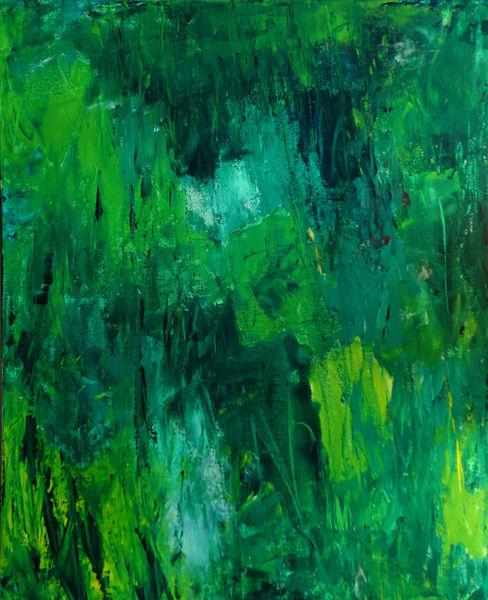 Abstrakt, Natur, Malerei, Wald