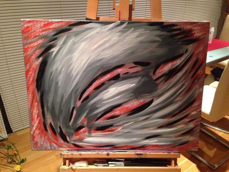 Ausdruck, Malerei, Farben, Abstrakt, Maske