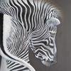 Schwarz weiß, Tiere, Zebra, Malerei
